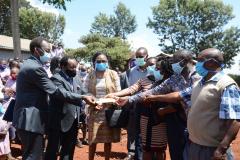 Unveiling-ceremony-of-Muringato-Primary-School